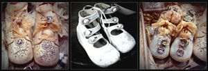 Baby Shoes Triptych