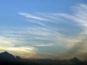 Misty Angel Wing Sky