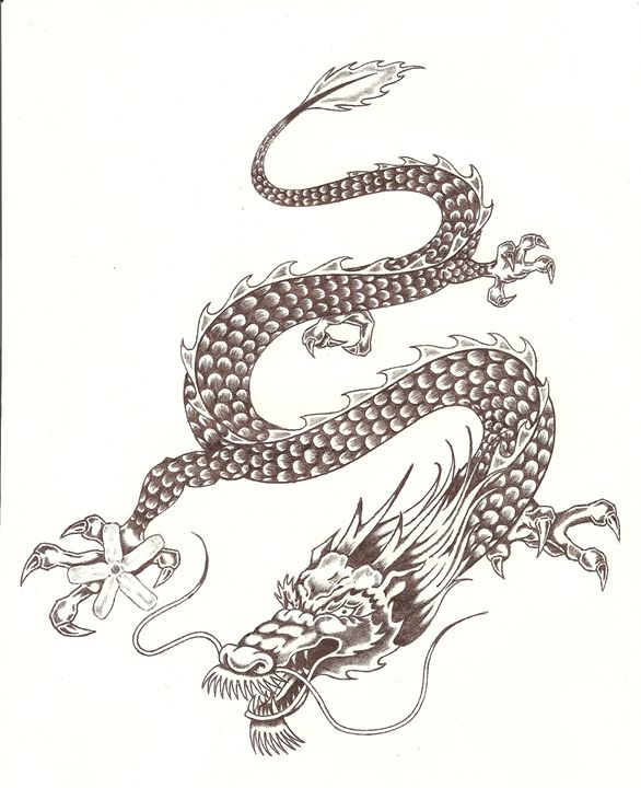 Asian Dragon - Dan Bandy
