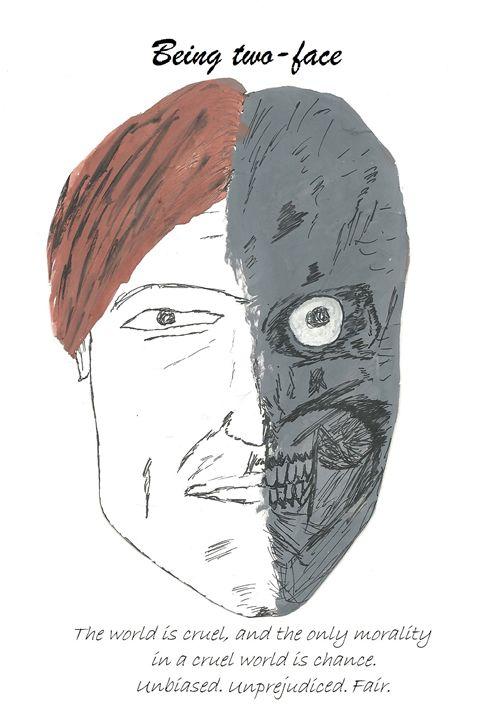 Being two face - artisto manifesto