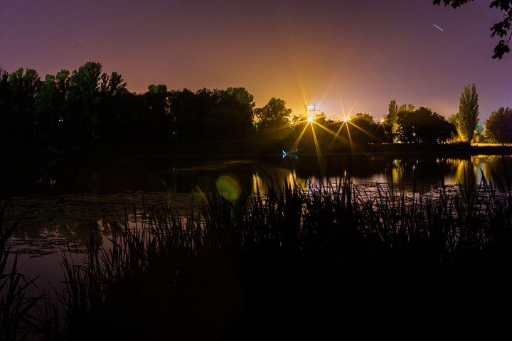 Night View Of The River - Anton Popov