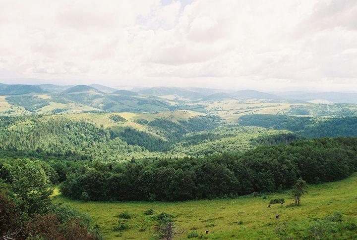 Carpathian landscape - Anton Popov