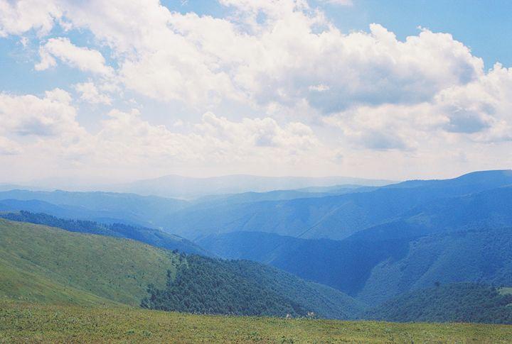 mountain range - Anton Popov