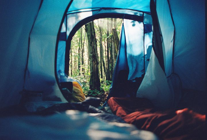 morning view from tent - Anton Popov