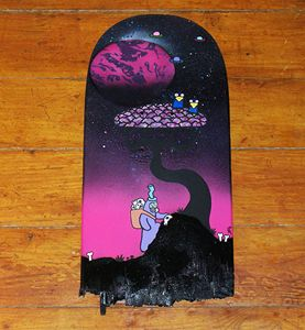 The Skull Hunter - Broken Skateboard