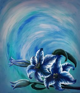 Blue Lily