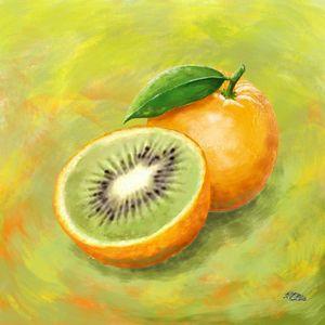 Orange - kiwi