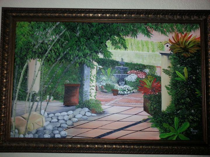 Terrace View - Rios Art