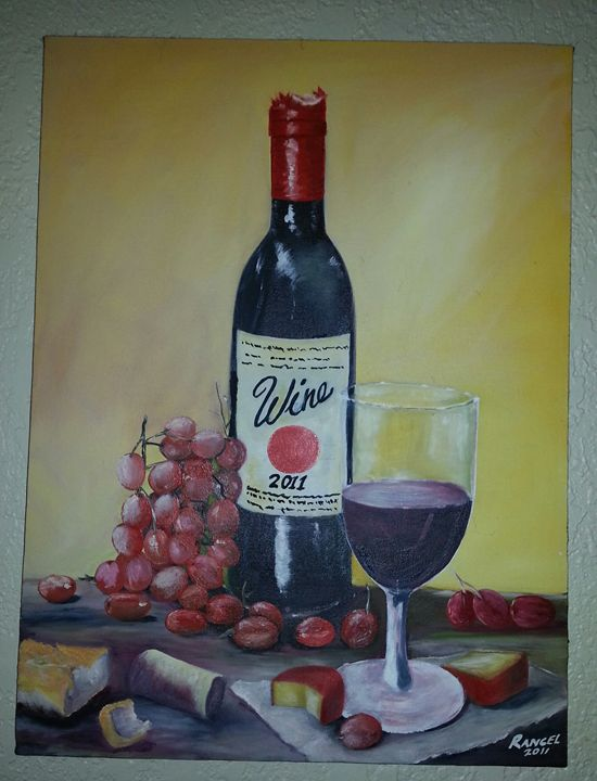 Divine Wine - Rios Art