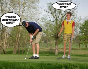 You've Played Golf Before! - Plastic Pam