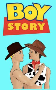 Boy Story! Funny Queer Art!