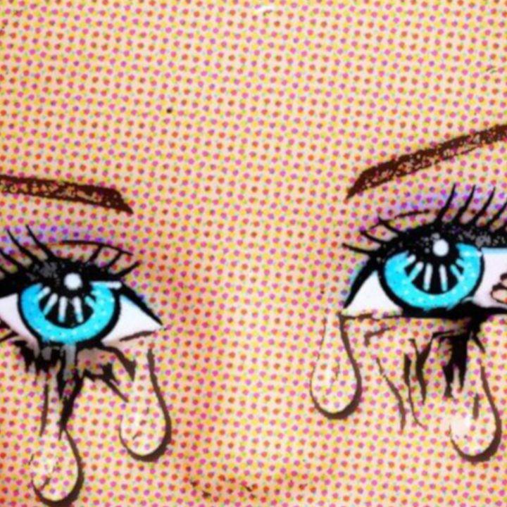 Pop Art Tears - Plastic Pam