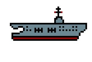 Pixel Aircraft Carrier