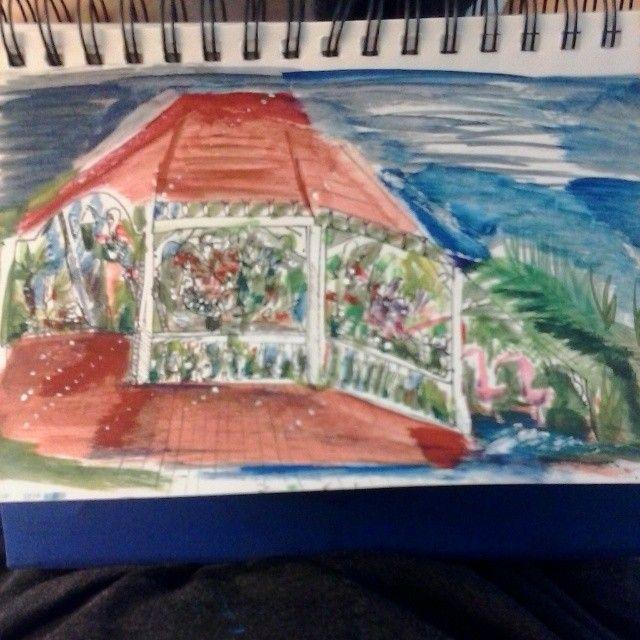 a Original Butterfly Conservatory - ETNART Evan Thomas Niemann
