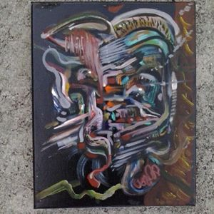 abstract  original on canvas by Niem