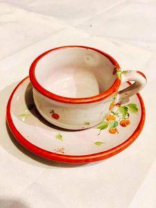 Strawberry espresso cup - Sofie