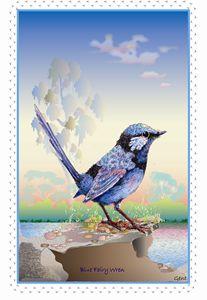 baby wren for c'pletionBlue Fairy Wr