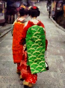 Two Little Maiko