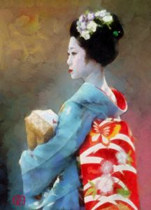 Maiko in Butterfly Obi