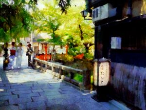 Summer in Gion