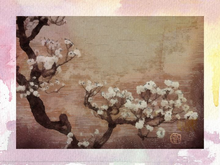 Plum Blossom - Cathleen Cawood