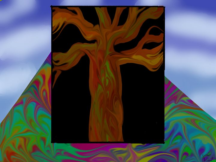 Trippy Tree - Corine Vincent
