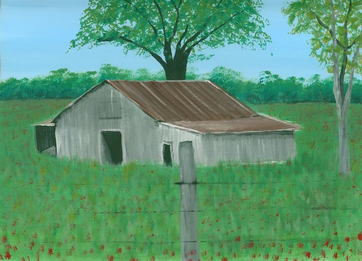 Barn in the Clover - Kecia Ellis
