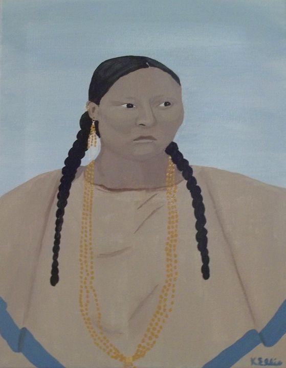 Cheyenne Maiden - Kecia Ellis