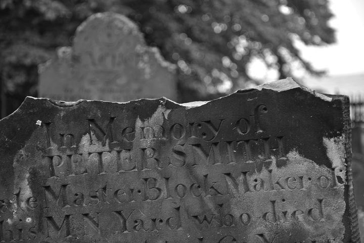 Broken Headstone #1 - Scott McKone