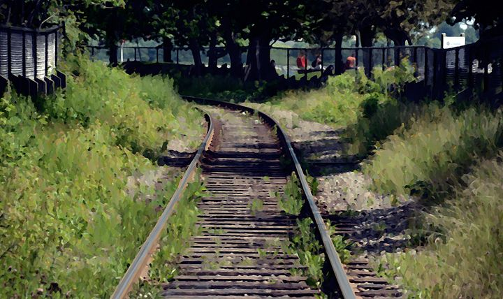 Train Tracks - Scott McKone