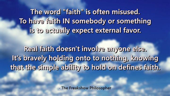 Faith - Scott McKone