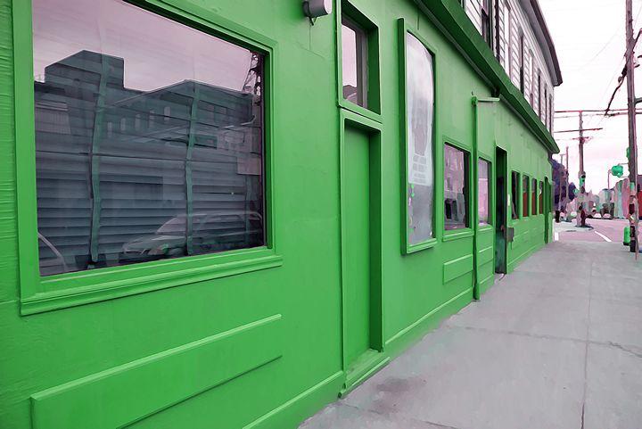 Green pub - Scott McKone