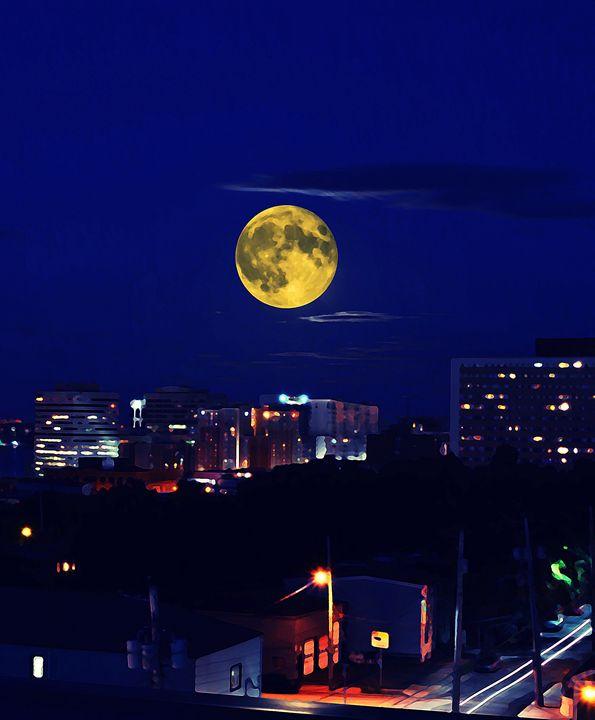 Halifax Night Sky - Scott McKone