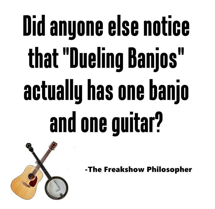 Dueling banjos? - Scott McKone