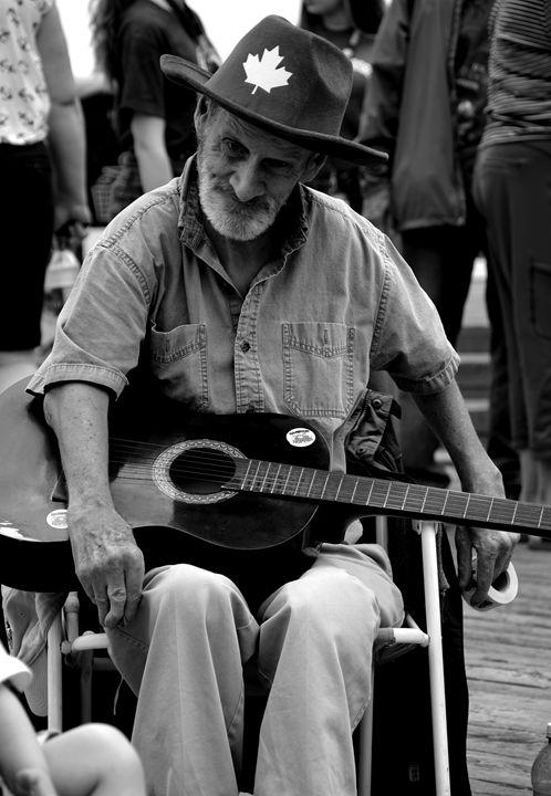 Old busker - Scott McKone