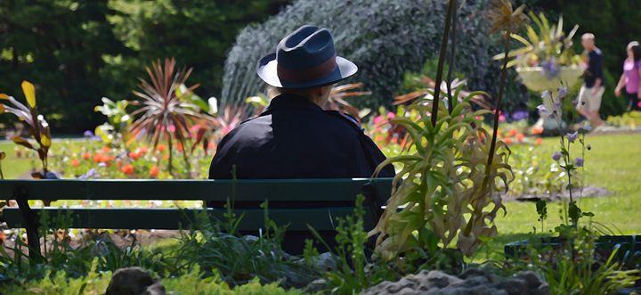 Resting park guard - Scott McKone