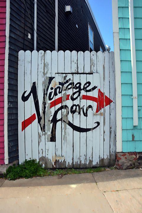 Painted wall #1 - Scott McKone