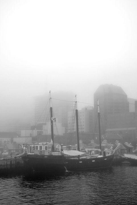 Ship in fog - Scott McKone