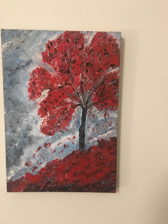 Abstract painting - Tamara