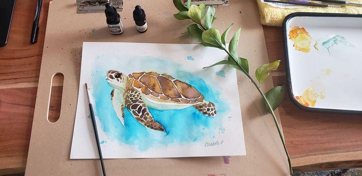 Sea Turtle - LizArt