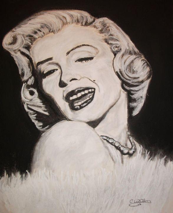 Marilyn - Cindy Williams Art