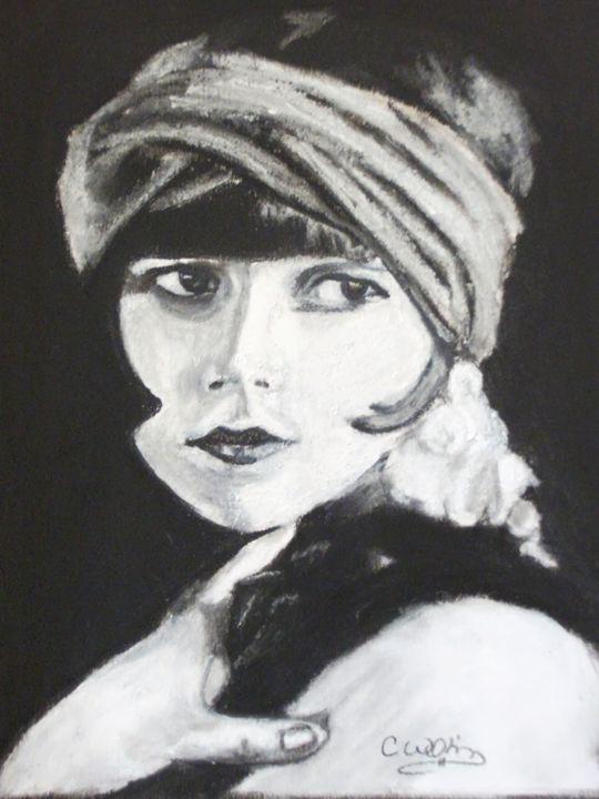 Silent Diva - Cindy Williams Art