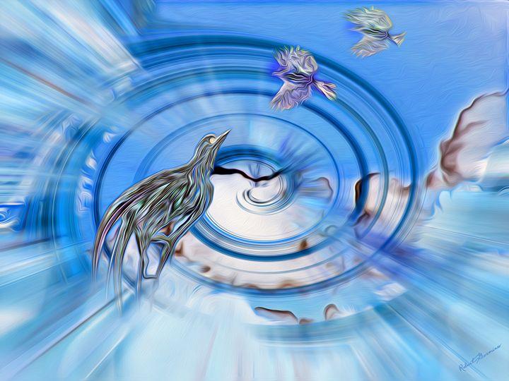 Cloud Birds - Harmonic Imagery