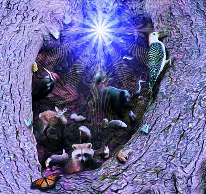 Treeworld - Harmonic Imagery