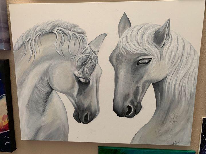 White horses - Inessa