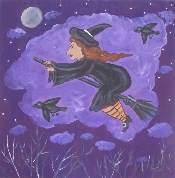 Flying Witch Sue - Olga Trotter