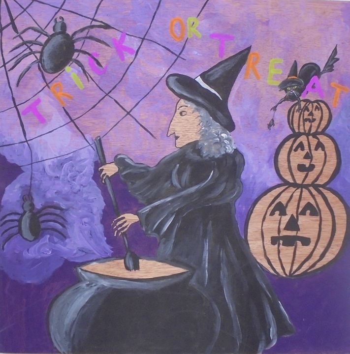 Halloween Witch - Olga Trotter