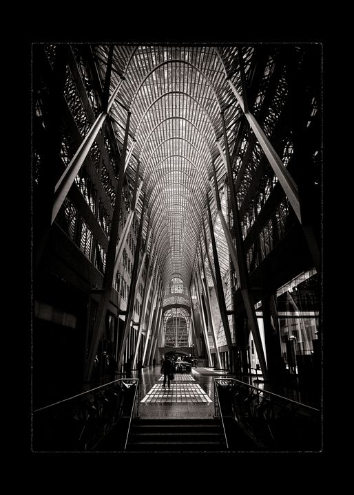 Allen Lambert Galleria 3 With Border - The Learning Curve Photography