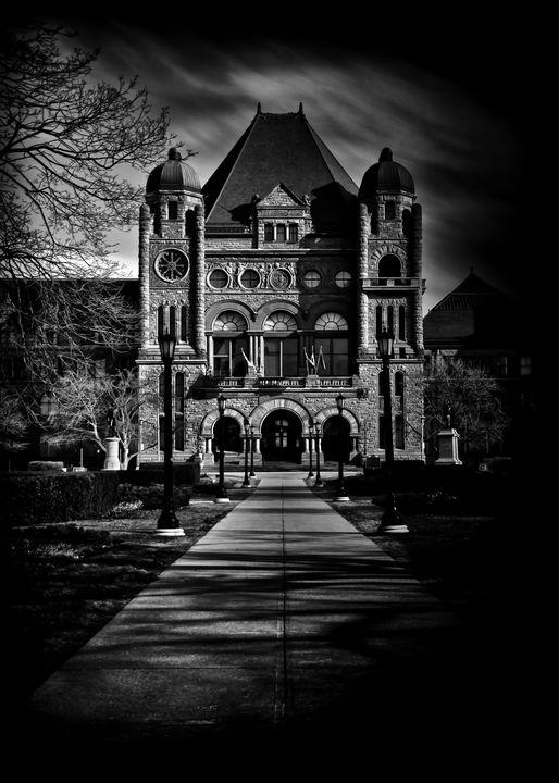Ontario Main Legislative Building - The Learning Curve Photography