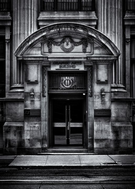 The Graphic Arts Building - The Learning Curve Photography